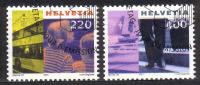 Zu 1020-1021 / Mi 1751-1752 / YT 1676-1677 Tourisme Obl. - Switzerland