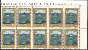 Italia 1972/73 MNH** -  Ss. 1196/97; 1196 Bloc 6x; 1198Q; 1198 Bloc 10x - 6. 1946-.. Repubblica