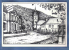 Carte Postale 88. Celles-sur-Plaine  L'église Et Les écoles  Par Yvan  Très Beau Plan - France