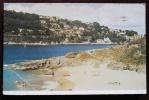 INGHILTERRA UK - SUNNY COVE, SALCOME. Cartolina Viaggiata Raffigurante La Spiaggia.1954 - Inghilterra