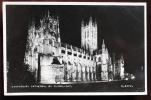 INGHILTERRA UK - CANTERBURY. Cartolina Viaggiata Raffigurante La Famosa Cattedrale Di Notte. - Canterbury