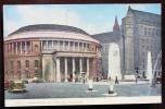 INGHILTERRA UK - MANCHESTER Cartolina Viaggiata Raffigurante La Biblioteca E Il Municipio. 1959 - Manchester