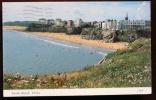 GALLES WALES - TENBY Cartolina Viaggiata Raffigurante La Spiaggia Sud South Beach. - Pembrokeshire