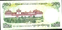 BHUTAN  P32b 100  NGULTRUM   2011     UNC. - Bhoutan