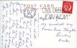 1957  SLOGAN - CIVIL DEFENCE - JOIN NOW - Stamps