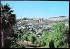 PALESTINA - GERUSALEMME. Cartolina Nuova Raffigurante La Veduta Dal Monte Degli Ulivi - Palästina
