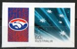 Australia 2011 Western Bulldogs Football Club Left With 60c Blue Southern Cross Self-adhesive MNH - Mint Stamps