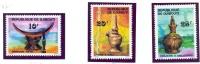 DJIBOUTI-1977-N°460/462  .ART LOCAL  Artisanat  MNH** - Djibouti (1977-...)