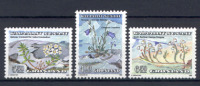 Groenlandia 1990 Unif. 193/95 **/MNH VF - Unused Stamps