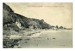 SAINT-JEAN-LE-THOMAS La Falaise Et La Plage à Mer Haute - France