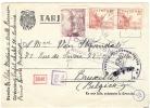 REF LBL7 - II° GM - ESPANE CARTE POSTALE AU DEPART DE MADRID POUR BRUXELLES MARS 1942 - Guerre Mondiale (Seconde)