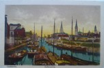 Duisburg : Hafenpartie  - Colorisée / Koloriert - Duisburg