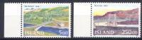 Islanda 1992 Unif. 721/22 **/MNH VF - Iceland