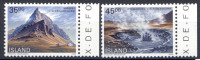 Islanda 1989 Unif. 657/58 **/MNH VF - Iceland
