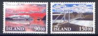 Islanda 1993 Unif. 735/36 **/MNH VF - Iceland
