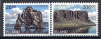 Islanda 1990 Unif. 684/85 **/MNH VF - Iceland