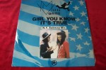 MILLI  VANILLI  °  GIRL YOU KNOW  IT' S  TRUE - 45 T - Maxi-Single