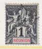 Reunion Island  34  Perf 14-13 1/2  (o) - Reunion Island (1852-1975)