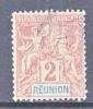 Reunion Island  35  Perf 14-13 1/2  (o) - Reunion Island (1852-1975)