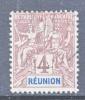 Reunion Island  36  Perf 14-13 1/2  (o) - Reunion Island (1852-1975)