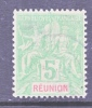 Reunion Island  38  Perf 14-13 1/2  (o) - Reunion Island (1852-1975)