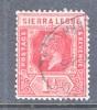 Sierra Leone  77  (o)  Wmk 4  Script CA - Sierra Leone (...-1960)