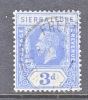 Sierra Leone  127  (o)  Wmk 4  Script CA - Sierra Leone (...-1960)