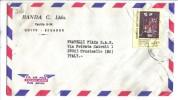 TZ516 - EQUADOR , Lettera Commerciale Per L'Italia. - Ecuador