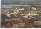 Sport-Flugzeuge Der GST DM-WKZ über Plattenbauten In Ost-Berlin 70er - 1946-....: Moderne