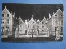 cpa / postcard / ak  ORLEANS  - hotel de ville illumin� - 1958 estel
