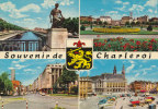 202.Charleroi - Souvenir De - Un Bonjour De Charleroi - Circulé En 1966 - Charleroi