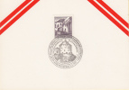 Kufstein -  42 Int. Philatelistentreffen - Münzensammlertreffen  -  9 September 1972 - Marcofilia - EMA ( Maquina De Huellas A Franquear)