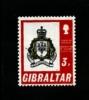 GIBRALTAR - 1971  PRESENTATION OF COLOURS  MINT NH - Gibilterra