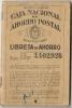 LIBRETA DE AHORRO - 1943  AHORROS, SAVINGS, RISPARMI.- CAJA NACIONAL DE AHORRO POSTAL - ARGENTINA - REVENUE STAMPS - Otros