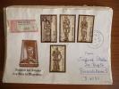 DDR - 1989 - Raccomandata - Mi N. 3285/88 - Brieven En Documenten