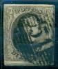 Belgique - No 6 Oblitéré P 51 (Grammont), 4 Marges, 1 Voisin, Bande De Couleur, See Scan - 1851-1857 Medaillen (6/8)