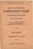 Ecole Supérieure D'Aéronautique De Lausanne - Rare Et Exceptionnel - Livres, BD, Revues