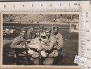 PO4834B# FOTOGRAFIA - MILITARI PAUSA PASTO - VALLI DI LANZO ? Anni '30 - Guerra, Militari