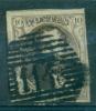 Belgique - No 6 Oblitéré P 114 (Termonde), 4 Marges, 2 Voisins, See Scan - 1851-1857 Medaillen (6/8)