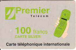 FRANCE - Premier Telecom Prepaid Card 100 F, Used - Prepaid Cards: Other