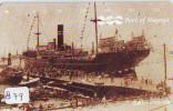 Télécarte JAPON * BATEAU * PHONECARD JAPAN * SHIP * CRUISE  (879) TELEFONKARTE SCHIFF * Schip - Boot - Barco - - Barche