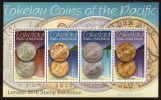 TOKELAU 2010 - Monnaies De Tokelau Surchargés LONDON 2010 - BF Neuf *** MNH Sheet Coins // Rares - Tokelau