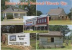 Plains GA Georgia, President Jimmy Carter Boyhood Home And Farm On C2000s Vintage Postcard - Sonstige