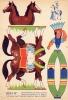 MAQUETTE DECOUPAGE Carton *CARDBOARD MODEL *CHEVAUX *INDIEN  *HORSES *INDIAN Le Cavalier Indien - Carton / Lasercut