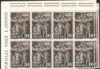 Vaticano 1961 - Nuovo 301-03 - San Leone Magno - Bloc 8x - MNH** - Vatican