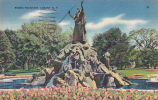 New York Albany Moses Fountain 1940