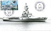 """TAAF..PORT AUX FRANCAIS-KERGUELEN...PORT HELICOPTERES """"JEANNE D'ARC""""..CPM 1979 - TAAF : Terres Australes Antarctiques Françaises"""