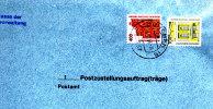 DV 084)  BRD 1562, 1691 Auf Postzustellungsauftrag: Sächs. Staatsoper Dresden, Deutsches Theater Berlin (Umschlag Ganz) - Muziek
