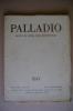 RA#06#03 Rivista Architettura PALLADIO 1958/stoà Di Attalo Agorà Ateniese/chiesetta Di San Massimo In Collegno/Borromini - Arte, Architettura