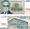 YUGOSLAVIA 10000000 Dinara 1994 P-144 UNC - Jugoslavia